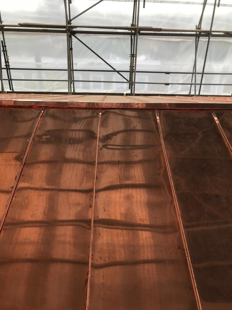 Copper Roofing Chelsea