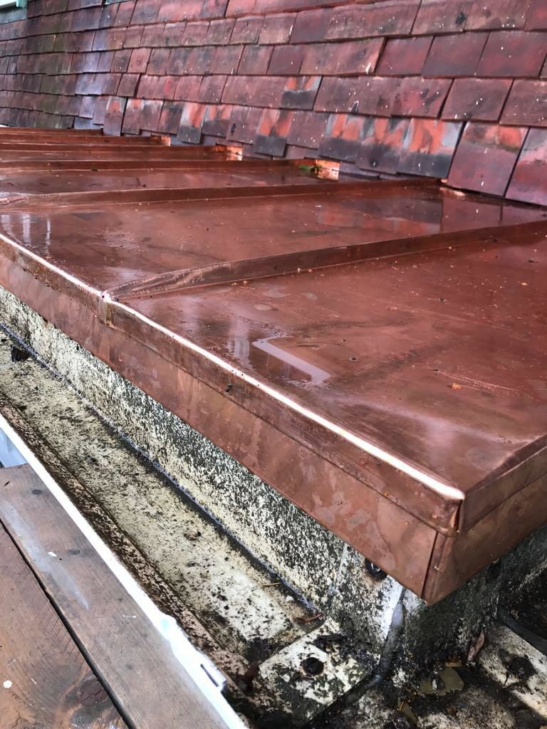 Copper Roofing Essex