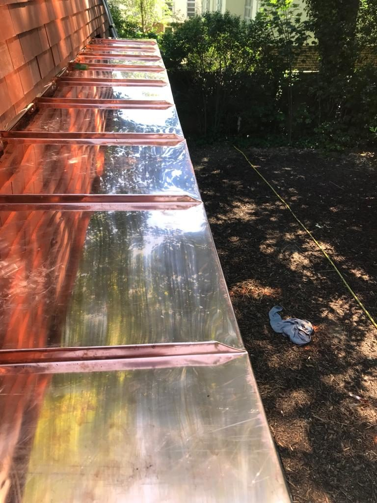 Copper Roofing London