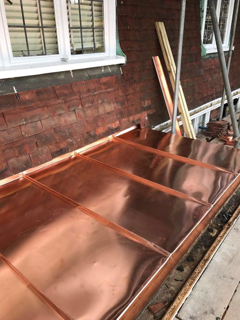 Copper Roofing Stratford