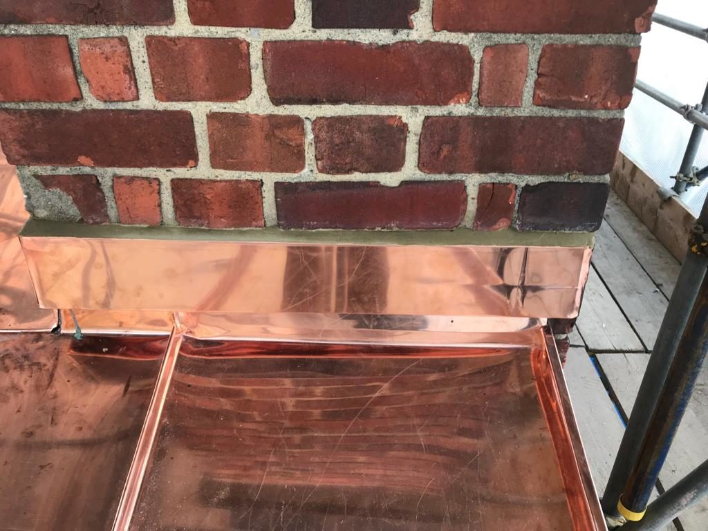 Copper Wall Cladding Chelsea