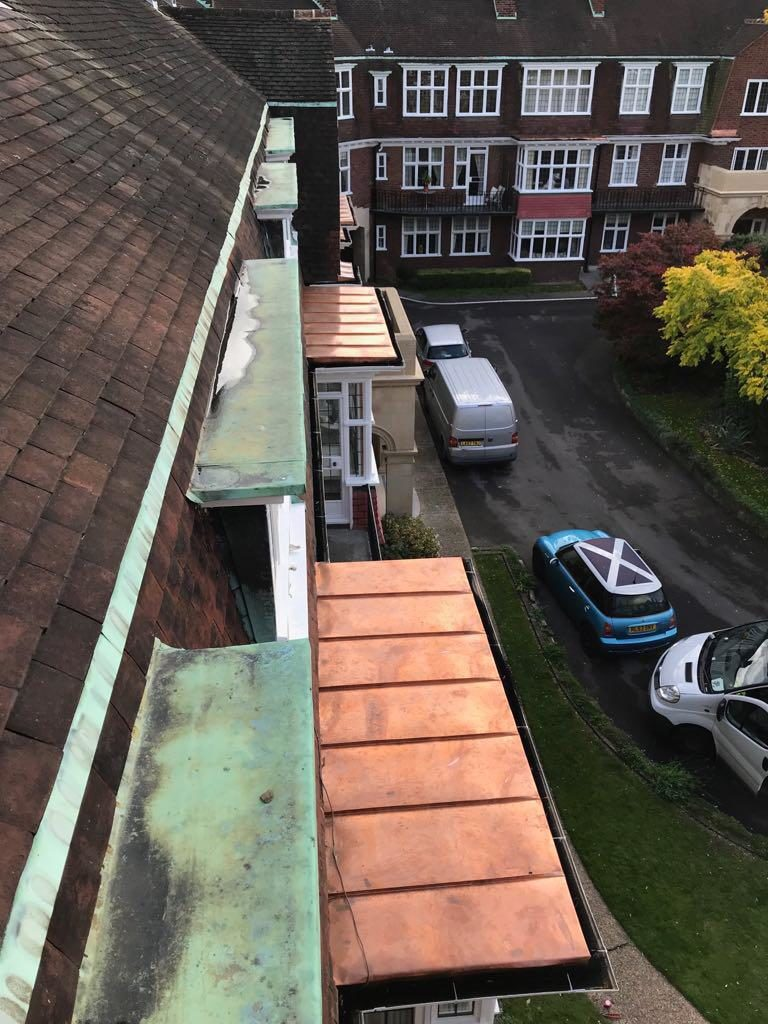 Copper Wall Cladding Dagenham