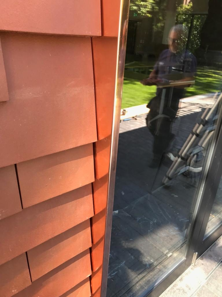 Copper Wall Cladding Essex