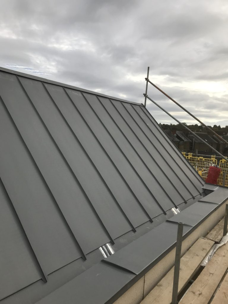 Zinc Roof Extensions Chelsea