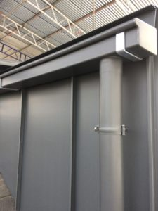 Zinc Wall Cladding Chelsea