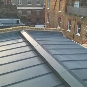 Zinc Graphite Grey Roofing Stratford