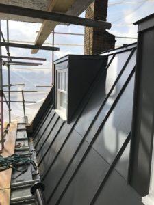 Zinc Wall Cladding Dagenham